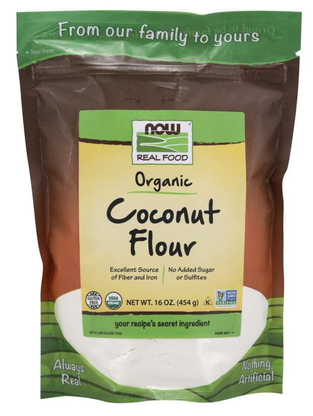 Coconut Flour, Organic | Excellent Source of Fiber and Iron