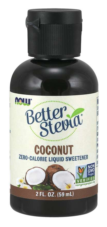 BetterStevia® Liquid, Coconut | Zero-Calorie Liquid Sweetener
