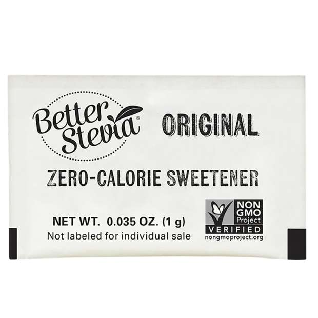 BetterStevia® Packets | Zero-Calorie Sweetener