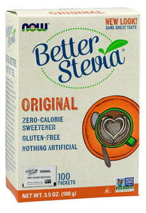 NOW - BetterStevia® Packets | 100 puts