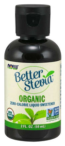 NOW - BetterStevia® Liquid, Organic | 2 oz