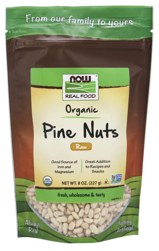 Pine Nuts, Raw Organic | Good Source of Iron and Magnesium
