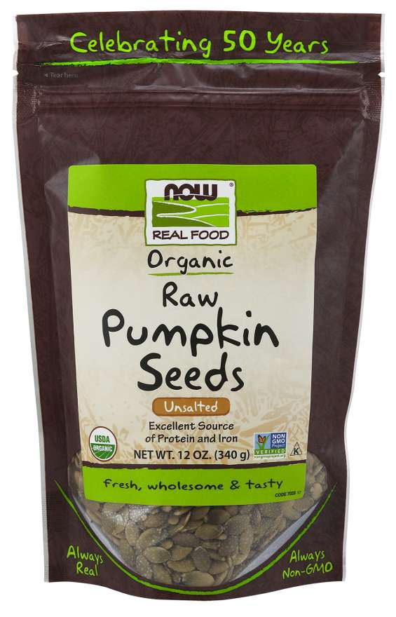 Pumpkin Seeds, Raw Organic | Unsalted