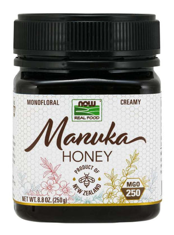 Now Foods Manuka Honey, Sweet, Rich and Robust Flavor With A Creamy Texture, 8.8 Ounce