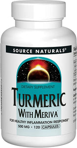 Turmeric with Meriva 500mg For Healthy Inflammatory Response - 120 Capsules