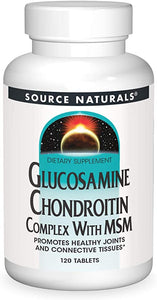 Source Naturals Glucosamine Chondroitin Complex With MSM - 120 Tablets