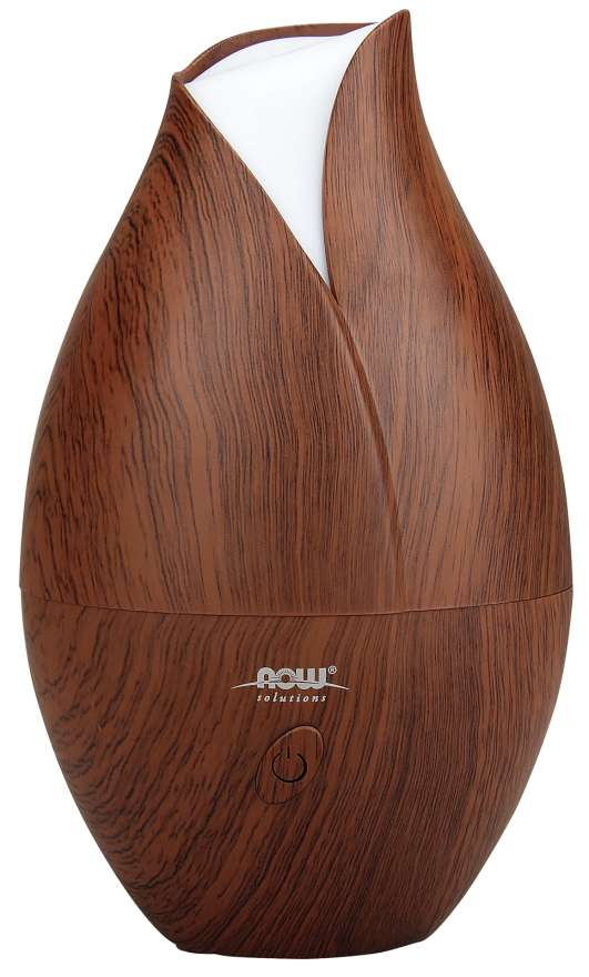 Ultrasonic Faux Wood Essential Oil Diffuser | Stylish Design with LED Color Changing Night Light
