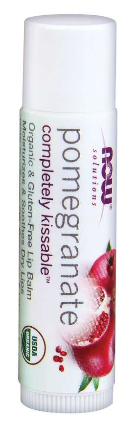 Completely Kissable™ Pomegranate Lip Balm |  Organic & Gluten-Free Lip Balm