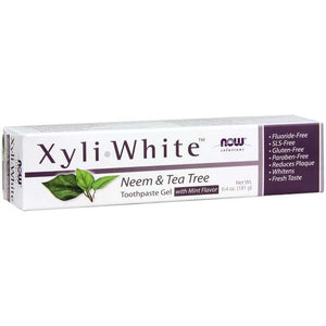 XyliWhite™ Neem & Tea Tree Toothpaste Gel | Cool, Minty, Refreshing Taste