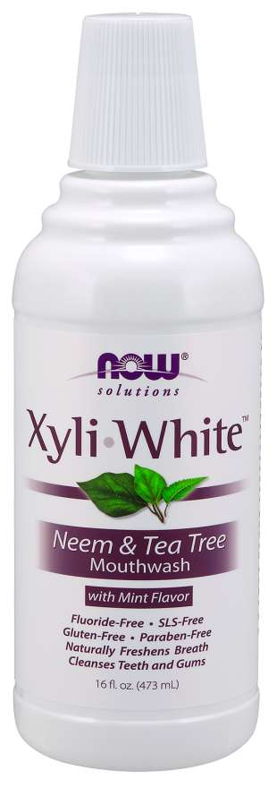 XyliWhite™ Neem & Tea Tree Mouthwash | With Mint Flavor