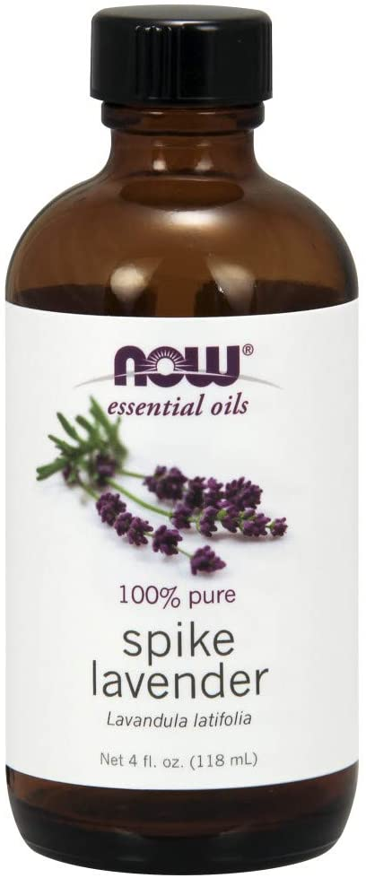 NOW - SPIKE LAVENDER OIL - 4 oz