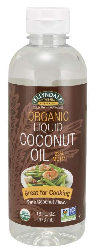 Liquid Coconut Cooking Oil, Organic | Great for Cooking