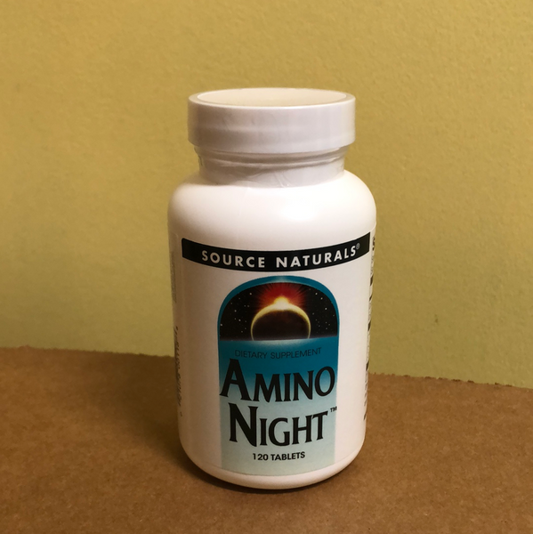 Source Naturals Amino Night 120 Tablets