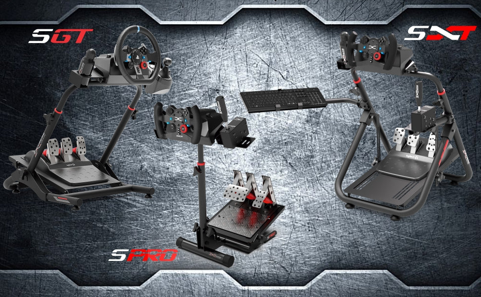 Comparison chart Wheel Stands Extreme Simracing