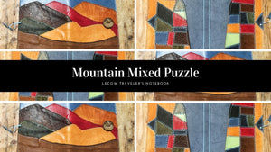 MIXED COVER (MOUNTAIN AND PUZZLE) - LeCow