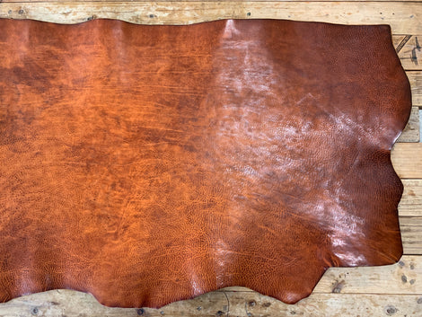 Vintage Tan Leather Cover, Traveler's Notebook Leather Cover, Notebook Cover, Journal Personalized