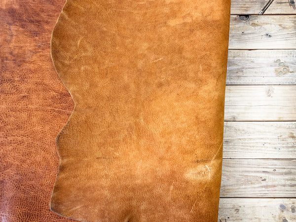 VINTAGE TAN  LEATHER COVER - LeCow