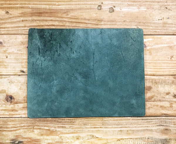 DARK GREEN LEATHER COVER - LeCow