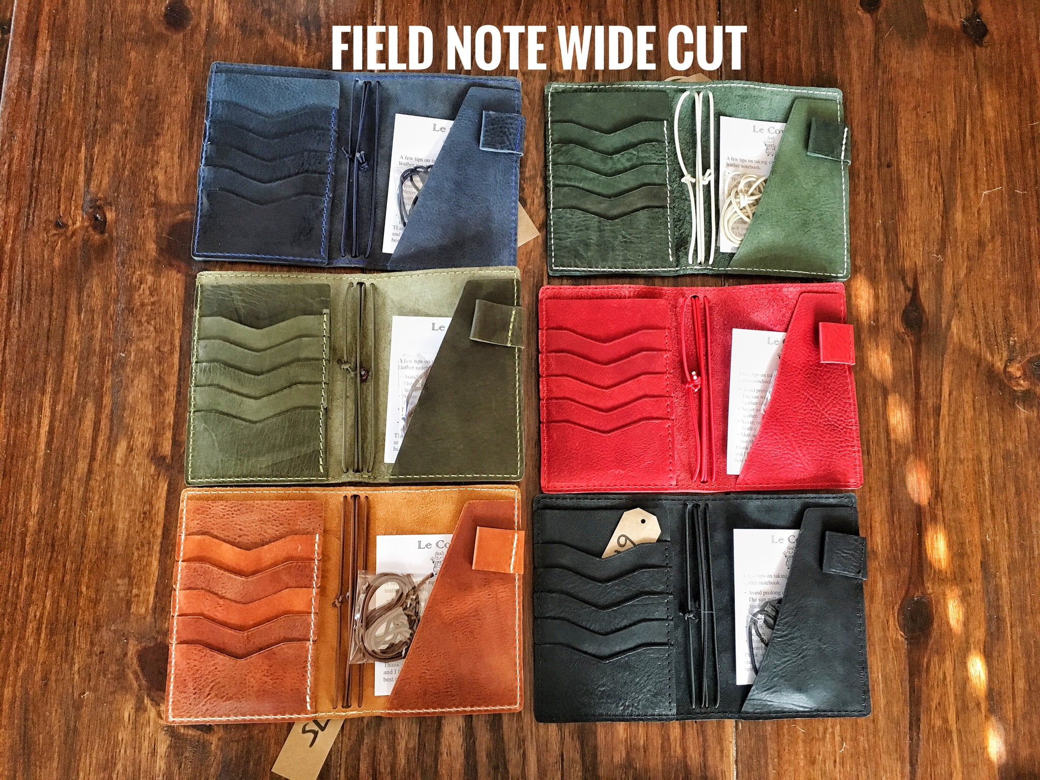 EDC COVER (Field Note/ A6/ Personal) - LeCow
