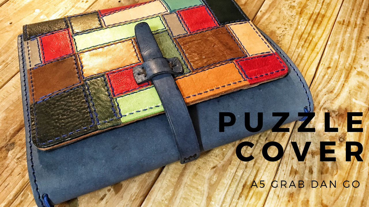 PUZZLE A5 WIDE CUT GRAB AND GO COVER - LeCow