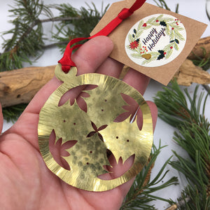 Handmade Brass Ornaments