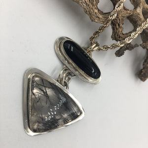 Shades of Black pendant