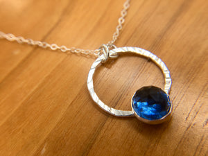 Sapphire Pendant - The Jewelry Shop
