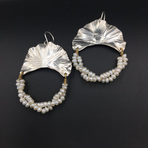 Pearl Twist Earrings