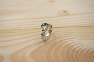 Green Amethyst Ring - The Jewelry Shop