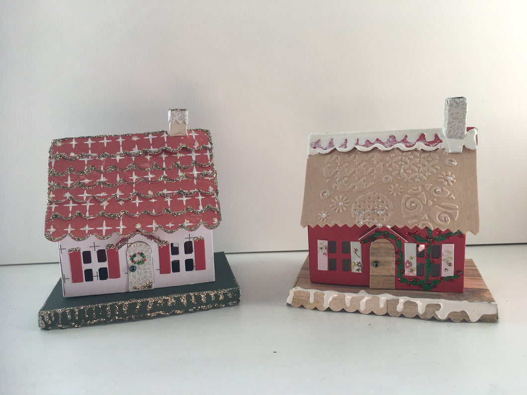 Saturday 30th November: Papercraft Christmas Tea Light Holders