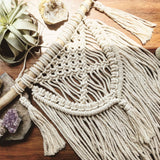 Macrame Wall Hanging with Tassel
