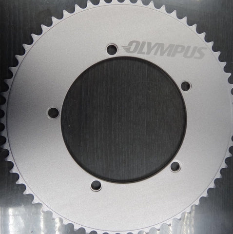 "60 tooth track chainring - 1/2"" x 3/32"" - 144 bcd"
