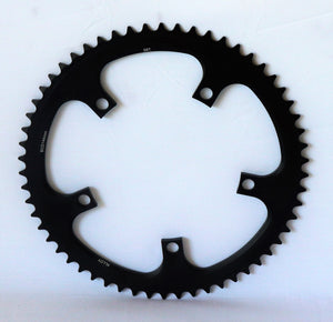 "58 tooth track chainring - 1/2"" x 1/8"" - 144 bcd"