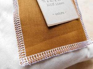 Bassinet sheet - Ochre