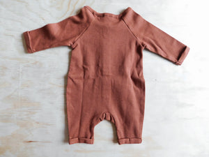 Natural Jumpsuit - Rust