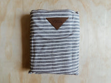 Load image into Gallery viewer, Bamboo Wrap Carrier - Grey Ribbon