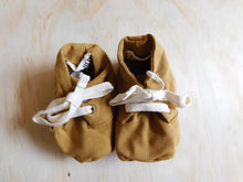 Load image into Gallery viewer, Baby Booties - Ochre