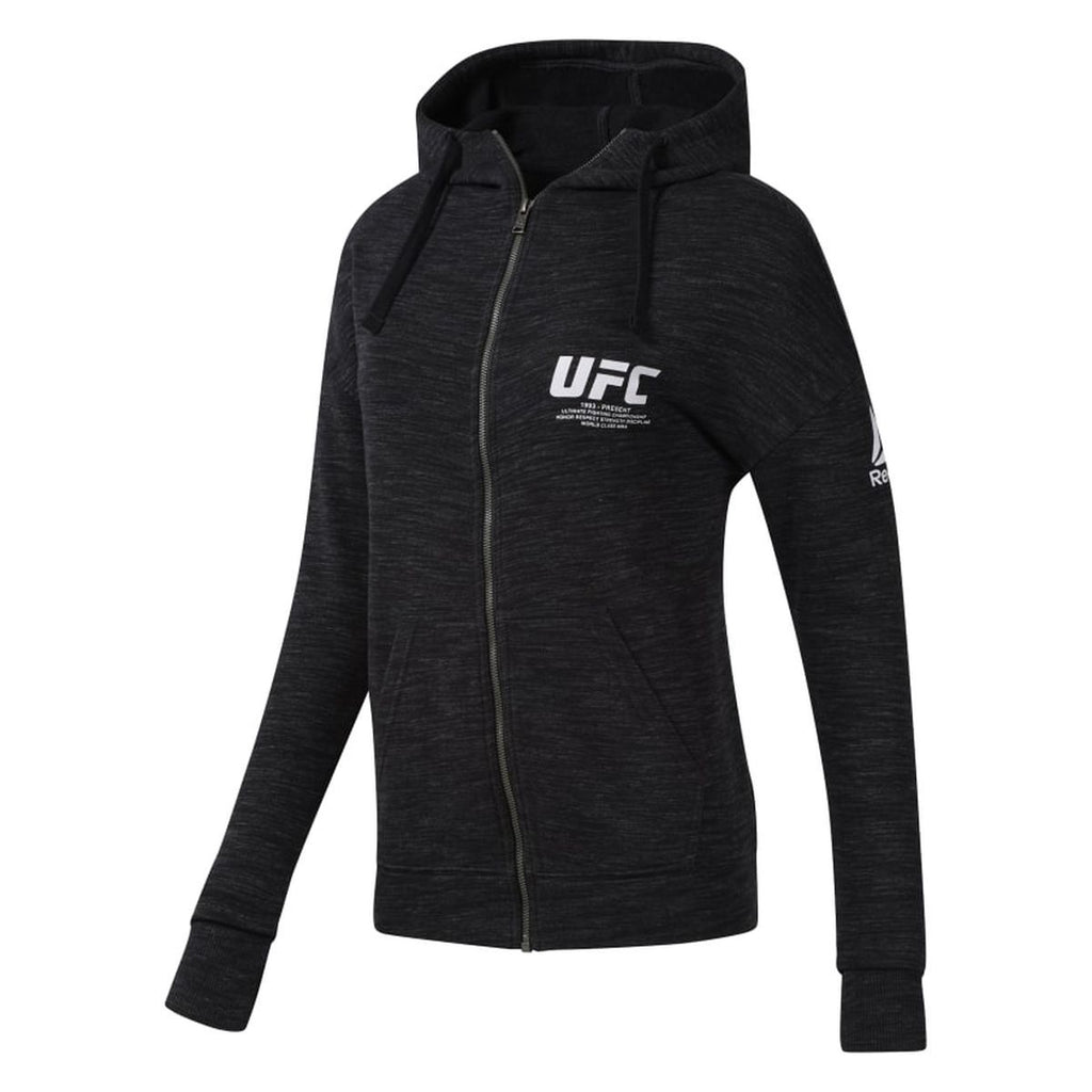 UFC Reebok Fan Gear Fight Week Womens Hoodie- Black