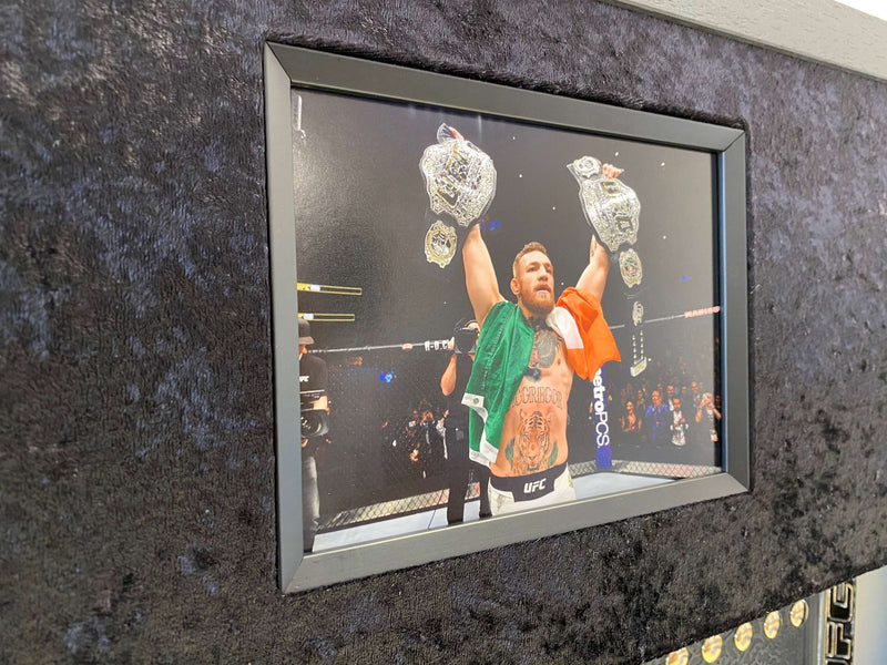 "Limited Edition Autographed Conor ""The Notorious"" McGregor Signed Belt Framed"