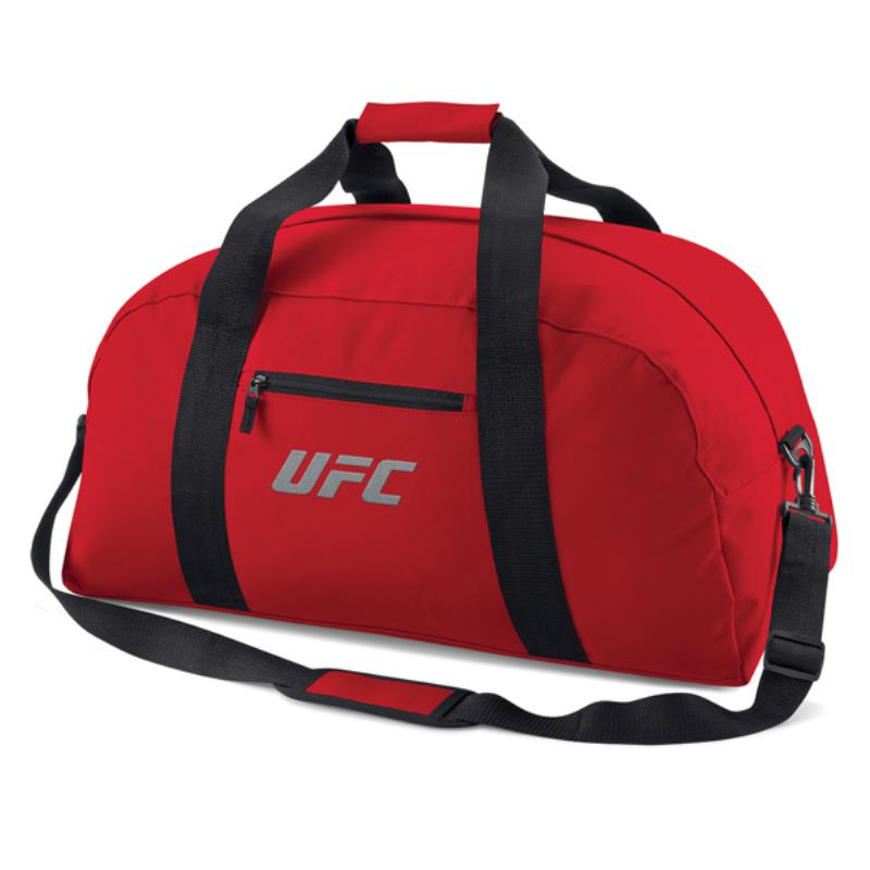 UFC Embroidered Classic Holdall-Red