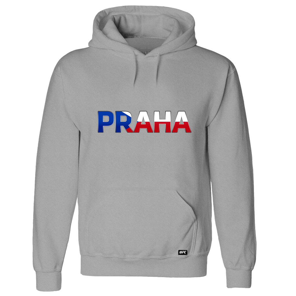 Men's UFC Fight Night Praha City Tour Hoodie-Grey