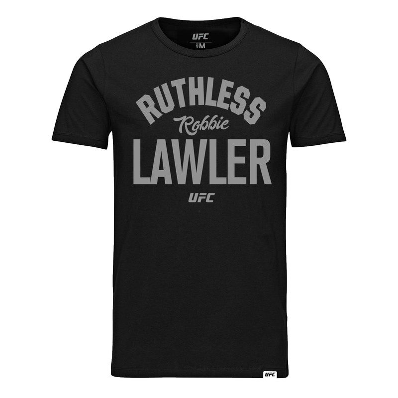 "Kid's Robbie ""Ruthless"" Lawler Old School UFC T-Shirt- Black"