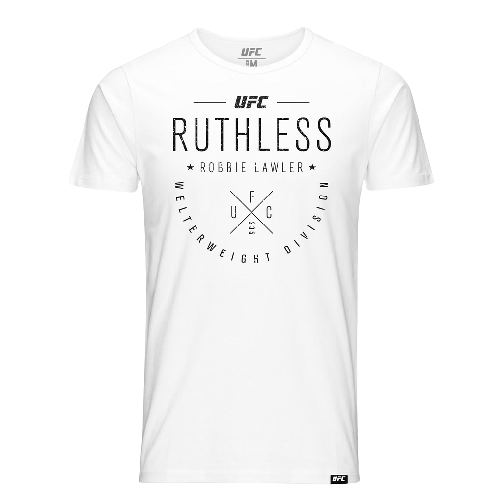 "Kid's Robbie ""Ruthless"" Lawler Script UFC T-Shirt- White"