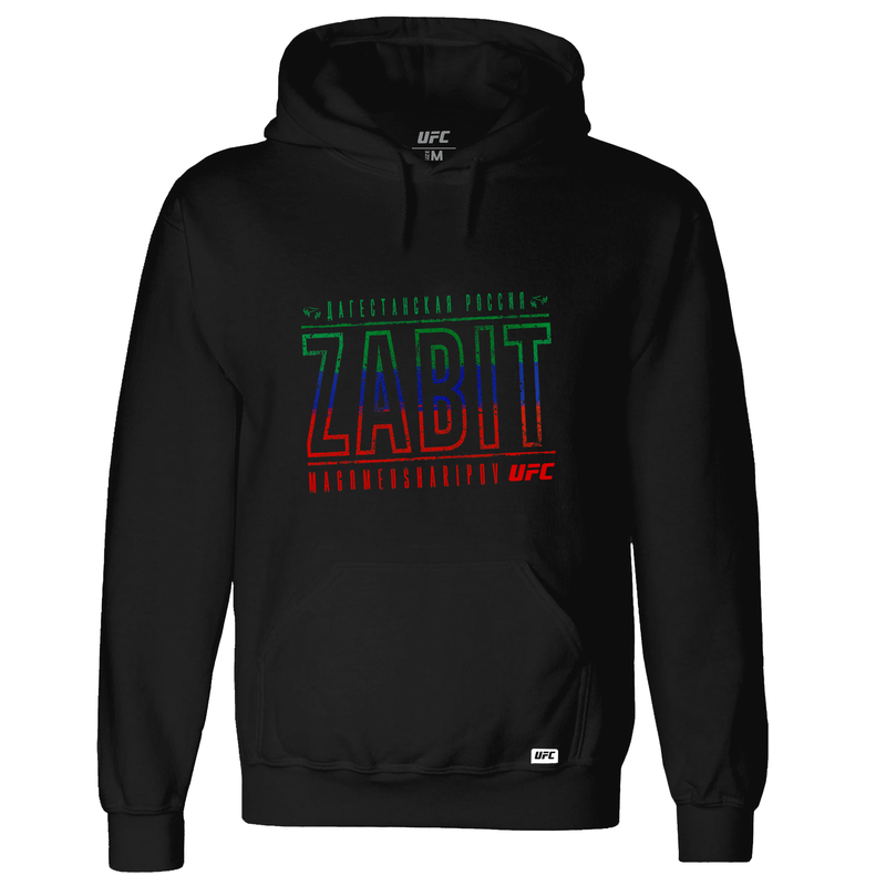 Men's Zabit Magomedsharipov colours #1 UFC Hoodie-Black