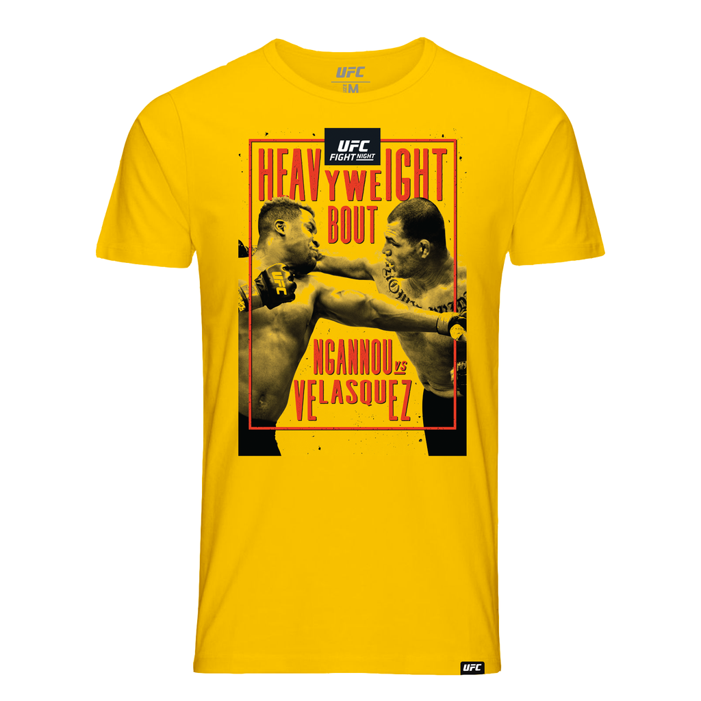 Men's UFC Fight Night Arizona Event Tee-Yellow