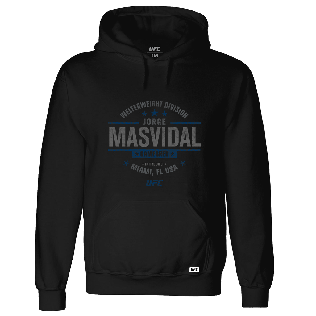 "Men's UFC Jorge ""Gamebred"" Masvidal Graphic UFC Hoodie- Black"
