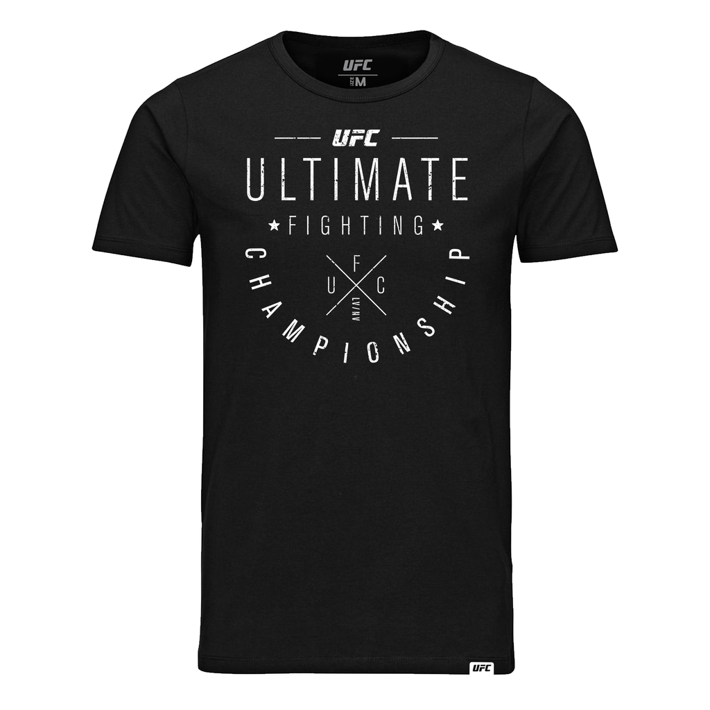 Men's UFC Ultimate Fighting Championship LVNY tee- Black