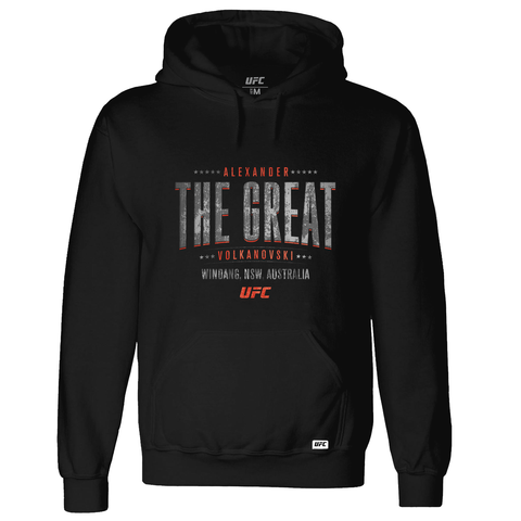 "Conor ""The Notorious"" McGregor EST 1988 Crest Hoodie-Black"