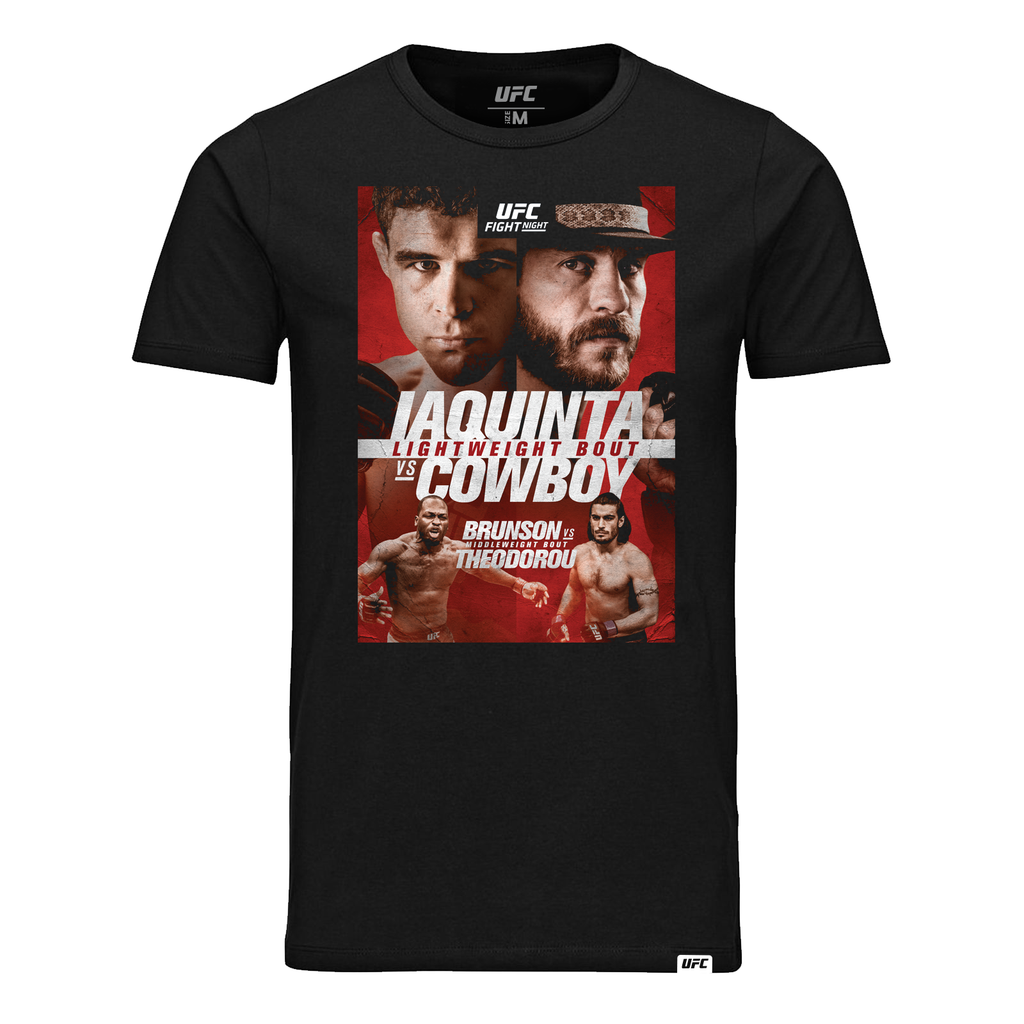 Men's UFC Fight Night Ottawa Iaquinta vs Cowboy Event T-Shirt - Black
