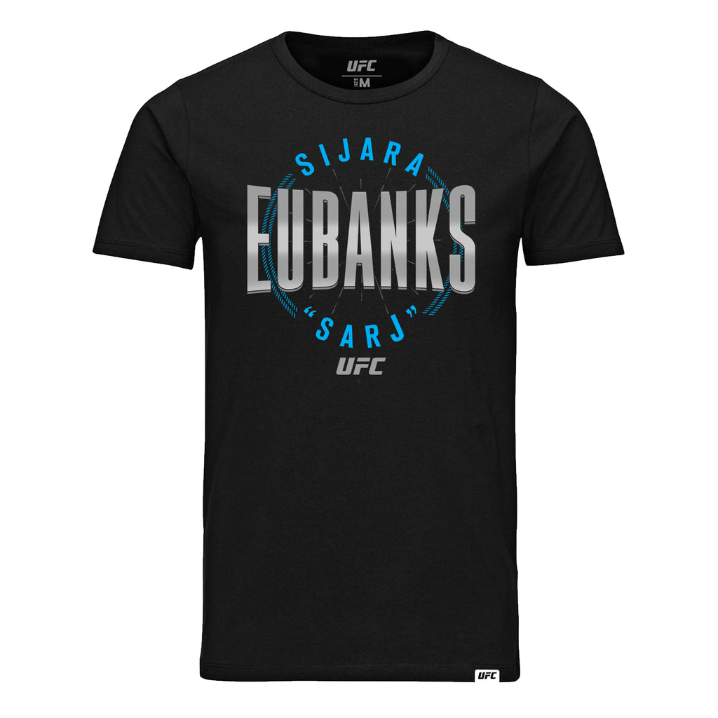 "Men's UFC Sijara ""Sarj"" Eubanks Graphic T-Shirt - Black"